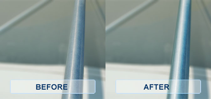 ClearKote Metal Protection - Before & After Metal Restoration